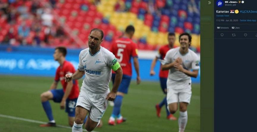 «Зенит» на выезде разгромил ЦСКА