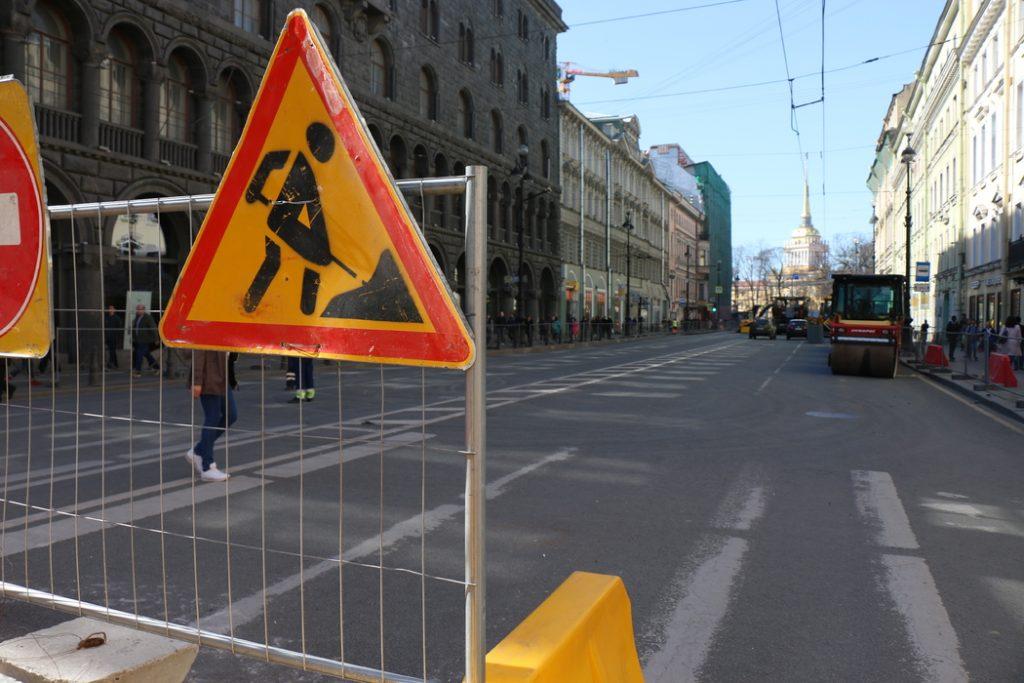 В Петербурге завершили ремонт трех улиц в Выборгском и Приморском районах
