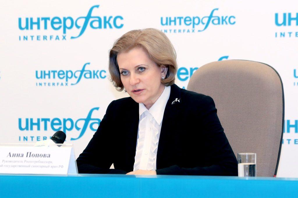 Попова рассказала о ситуации с Covid-19 в России после Нового года