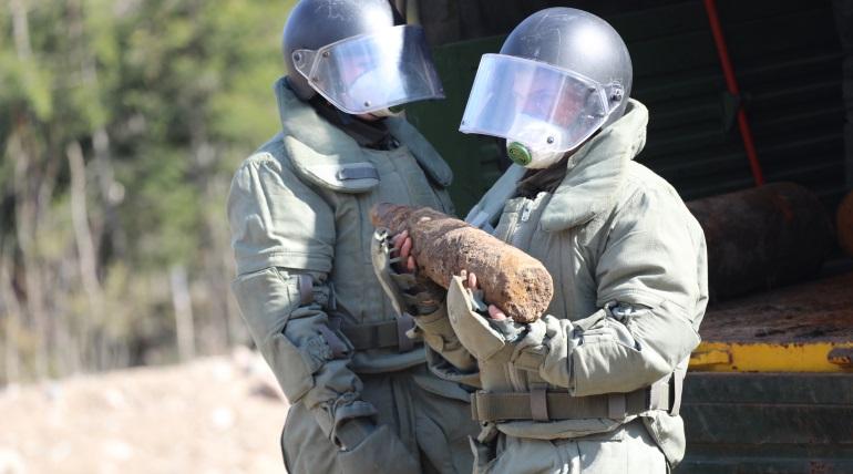 Саперы ЗВО за месяц нашли 250 опасных боеприпасов в Петербурге и Ленобласти