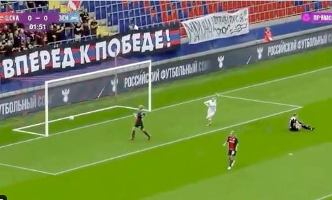 Участница женского состава «Зенита» забила гол на 2-й минуте матча с ЦСКА