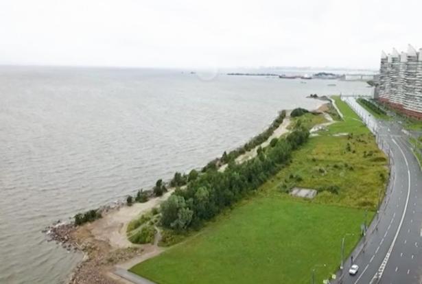 Берег Финского залива к 2022 году превратят в общественное пространство
