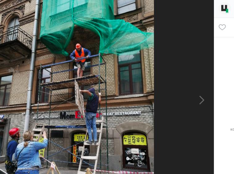 Активисты Петербурга просят чиновников ускорить капремонт дома Бернштейна