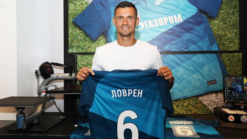 Семак похвалил игру Ловрена в матче с «Локомотивом»