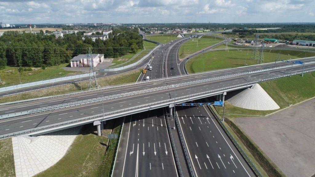 Реконструкция участка Киевского шоссе завершилась почти на пять месяцев раньше срока