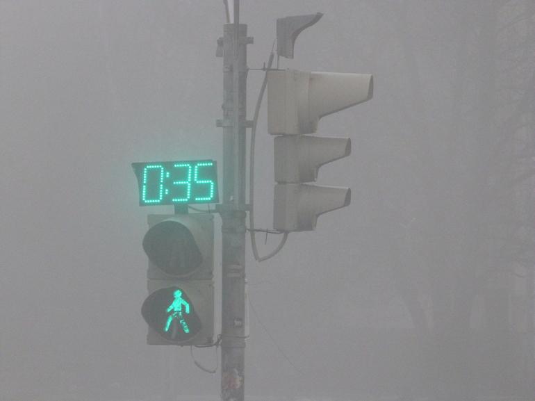 Петербуржцев предупредили о сильном тумане в пятницу