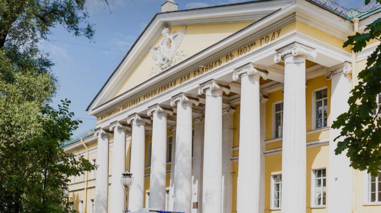 Мариинская больница вновь перепрофилируется для лечения ковид-пациентов