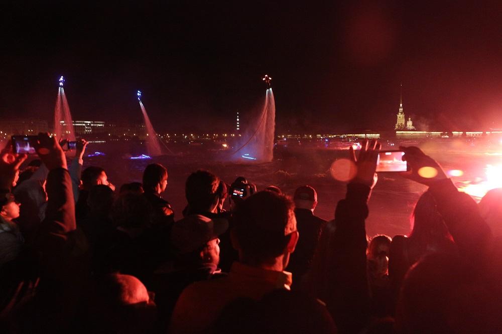 В Петербурге состоялось Флайборд-шоу: Gazeta.SPb показывает, как это было