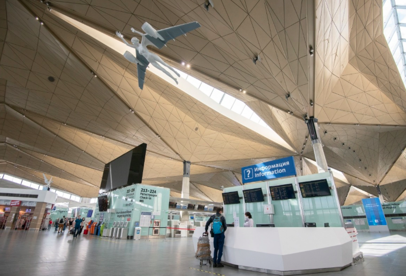 В новогодние праздники аэропорт Пулково обслужил более 500 тысяч пассажиров