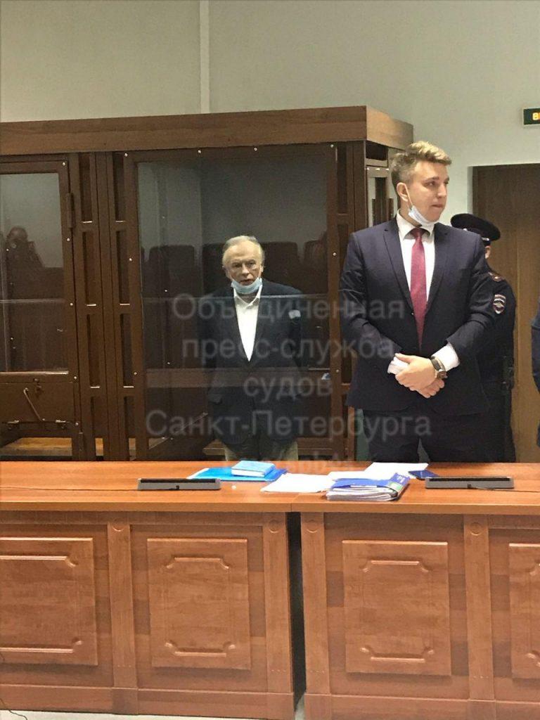 В Петербурге проходит очередное судебное заседание по делу Олега Соколова