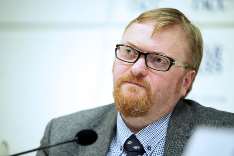 Милонов попросил МВД проверить наличие двойного гражданства у жены Навального