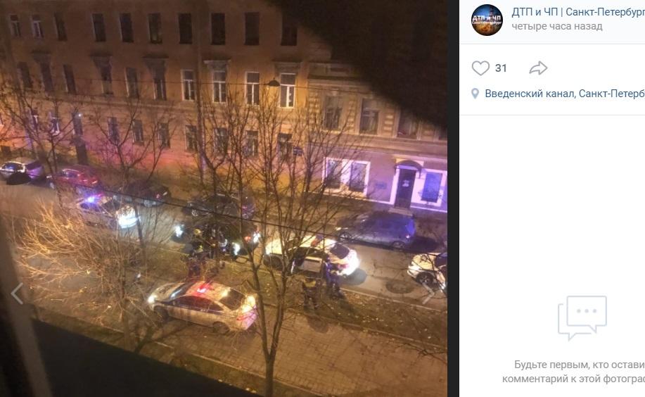 Погоня на Молодетскосельском закончилась стрельбой и госпитализацией