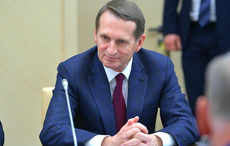 Нарышкин прокомментировал ситуацию вокруг отношений России и Чехии