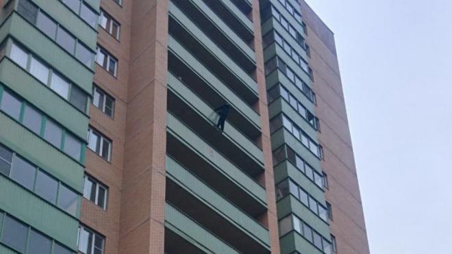 В Шушарах мужчина повис на балконе 11 этажа и звал Юлию