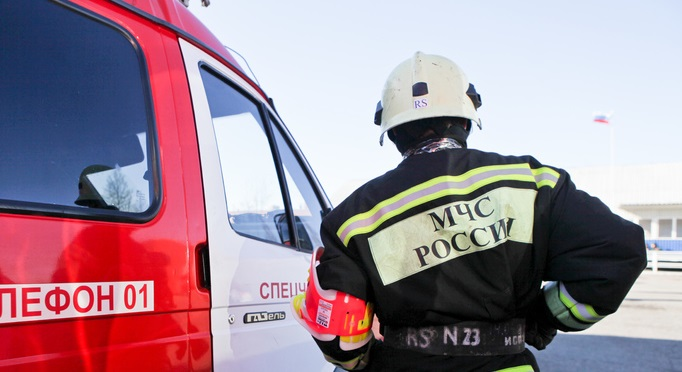 В здании на Индустриальной в Гатчине произошел пожар