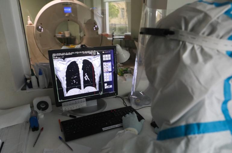 С начала пандемии COVID-19 более 165 тысяч жителей Петербурга прошли обследование в КТ-центрах
