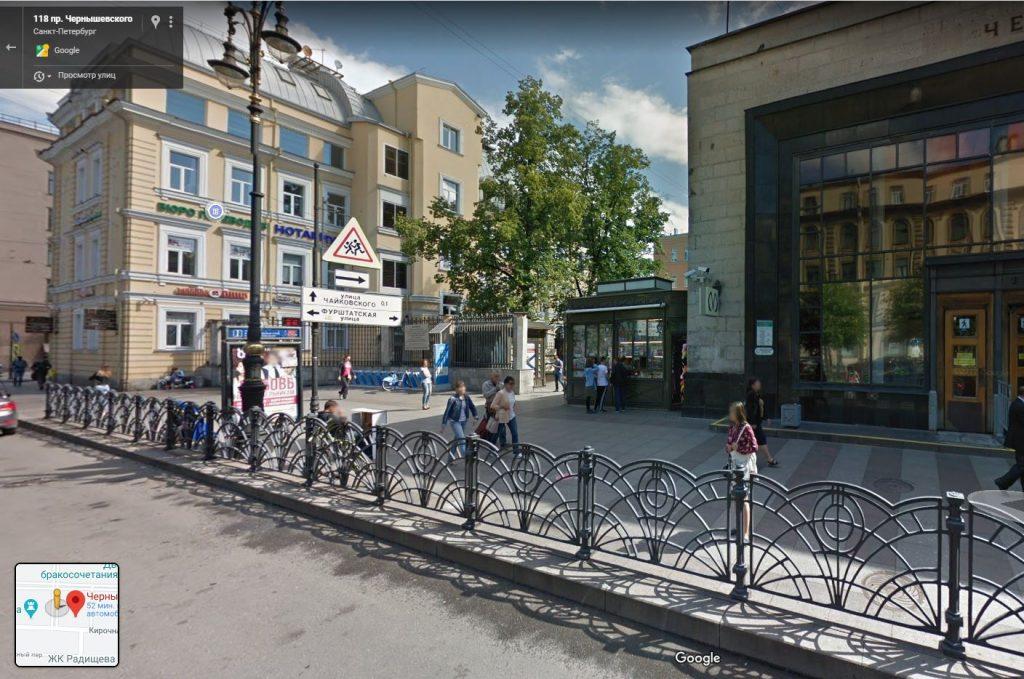 10 июля временно закроют «Чернышевскую»