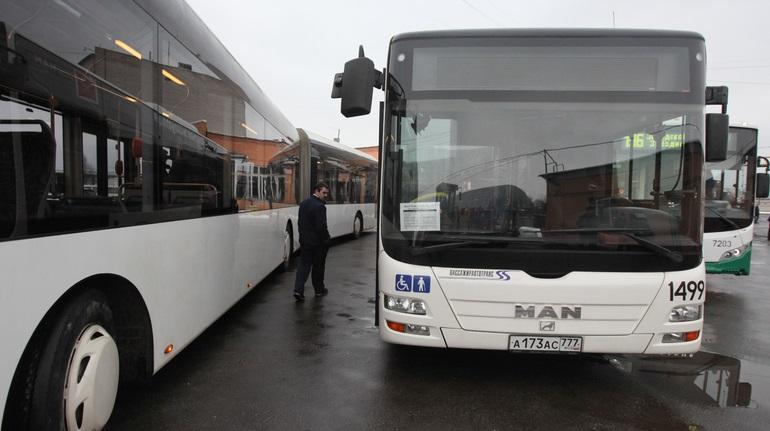 В Петербурге в автобусе сгорел мужчина