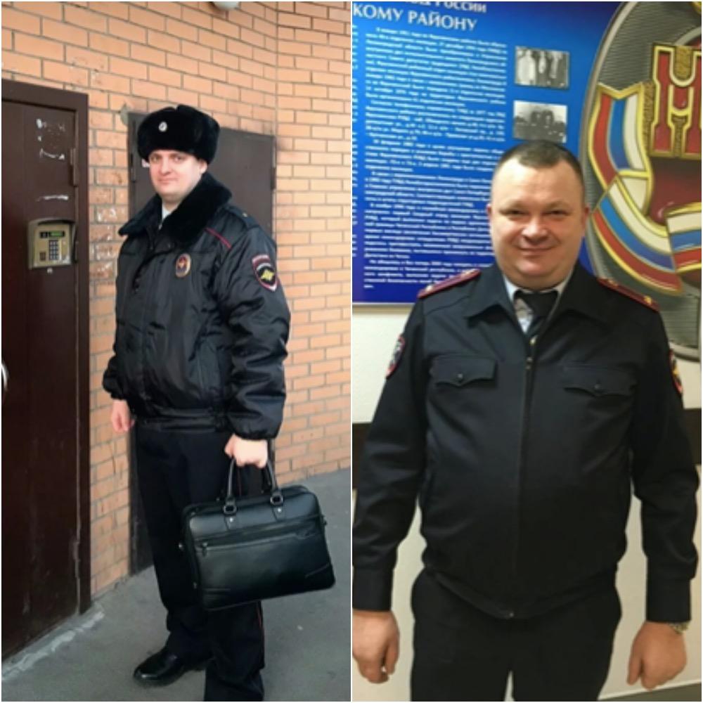 В Петербурге наградили полицейских, которые спасли 3-летнюю девочку из пожара на Будапештской