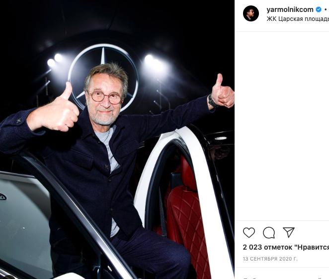 Актер Леонид Ярмольник пожаловался на проблемы с финансами из-за пандемии