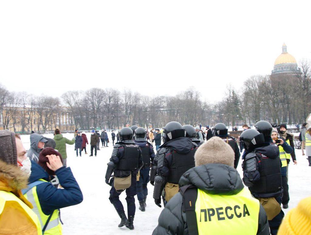 Суд Петербурга прекратил дело в отношении инвалида, задержанного на несогласованной акции протеста