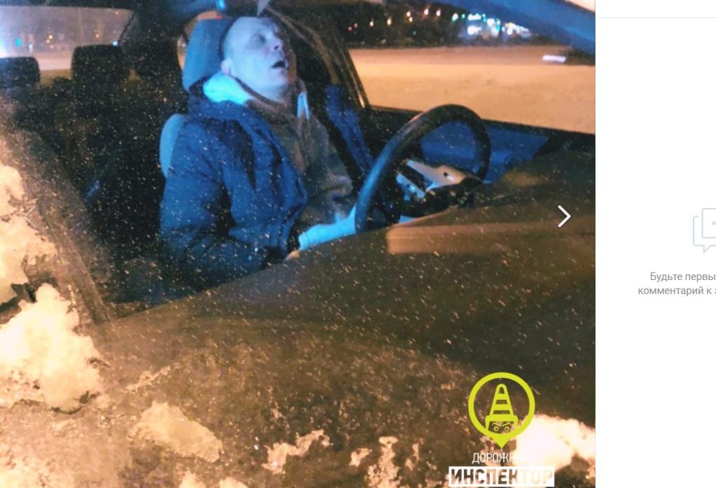 Петербуржцы задержали неадекватного водителя в Калининском районе