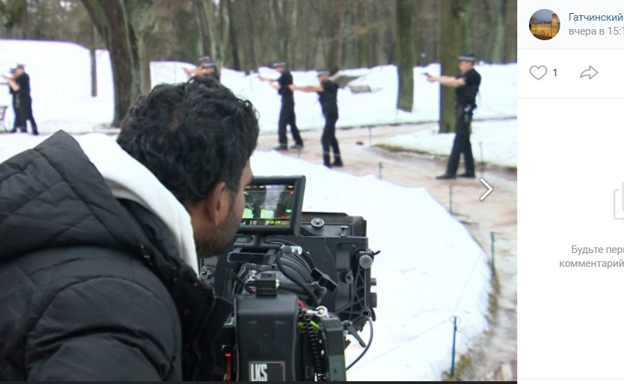В Гатчине стартовали съемки индийского боевика со звездой Болливуда