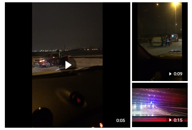 На Новоприозерском шоссе произошла массовая авария