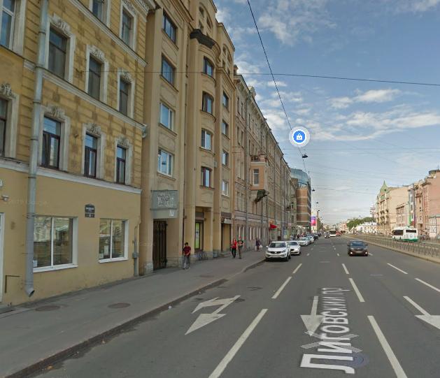 На Лиговском проспекте пешеход попал под трамвай
