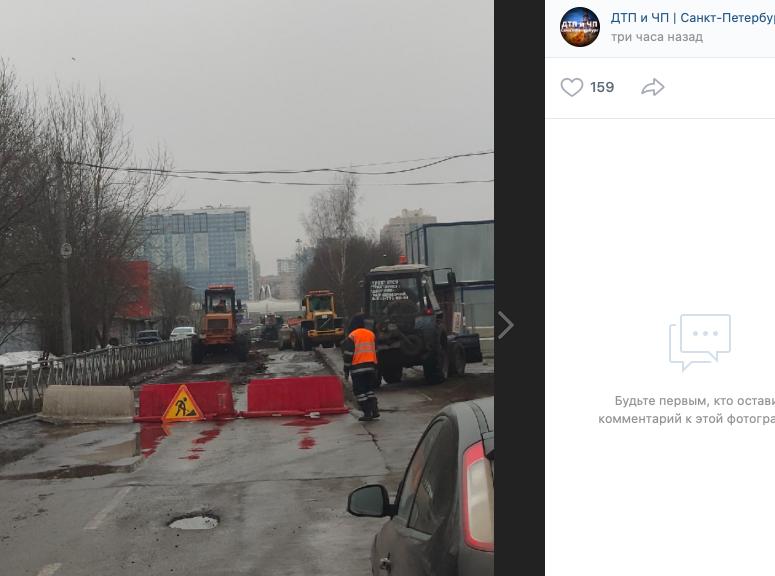В Петербурге начался долгожданный ремонт Ситцевой улицы