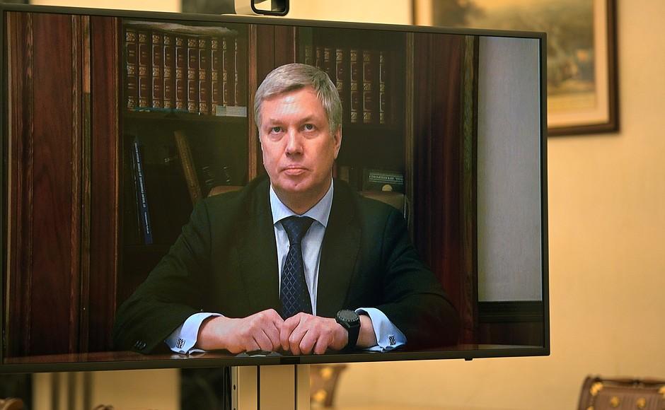Путин назначил Русских на пост врио губернатора Ульяновской области