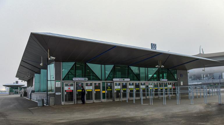 Работы на станции метро «Зенит» закончат к началу Чемпионата Европы по футболу