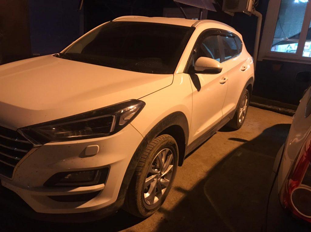 Угнанный в Петербурге Hyundai нашли в Самарской области