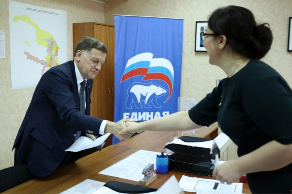 Вячеслав Макаров подал заявление для участия в предварительном голосовании
