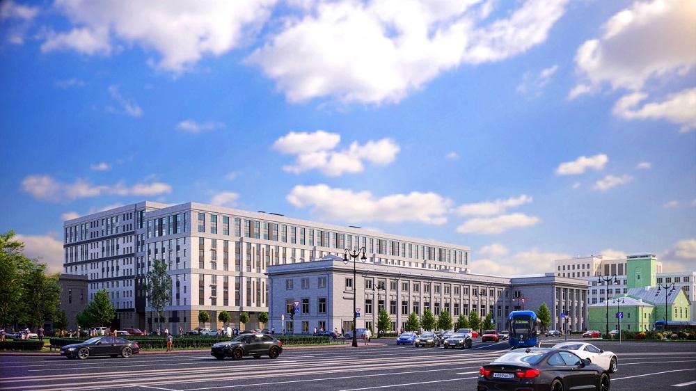 У площади Московские ворота построят жилой комплекс бизнес-класса