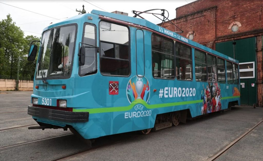 Открытие станции «Зенит», автобусы-шаттлы, дезинфекция: транспорт Петербурга готов к Евро-2020