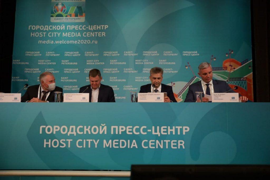 В Городском пресс-центре чемпионата Европы по футболу аккредитовано более 700 российских и 100 зарубежных журналистов