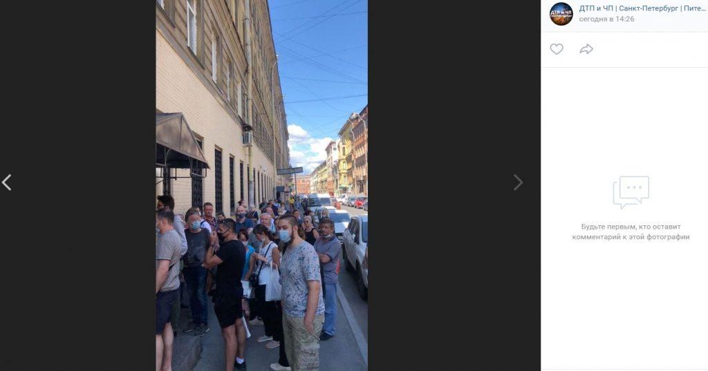 Петербуржцы сообщили об огромной очереди за получением свидетельства о смерти