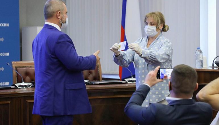 Состоялось 29-е заседание ЦИК России
