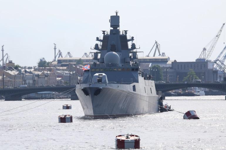 На телеканале «Санкт-Петербург» покажут генеральную репетицию Главного военно-морского парада