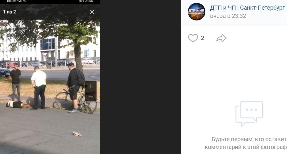 На Пискарëвском проспекте Mercedes сбил подростка