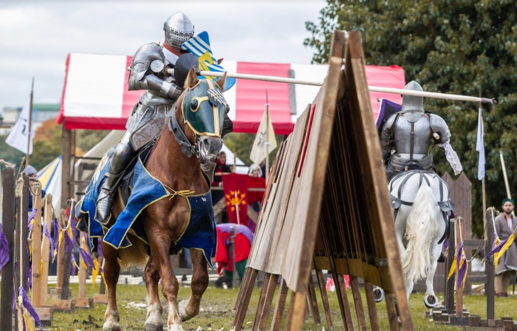 Фестиваль рыцарей пройдет у стен Петропавловской крепости