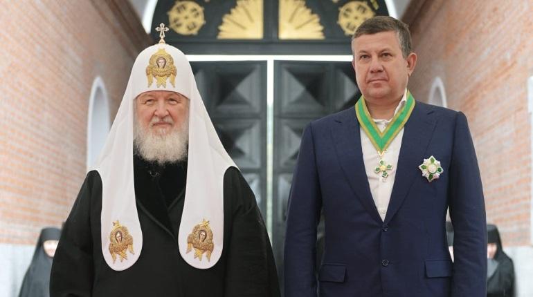 Глава Setl Group Максим Шубарев получил орден Сергия Радонежского