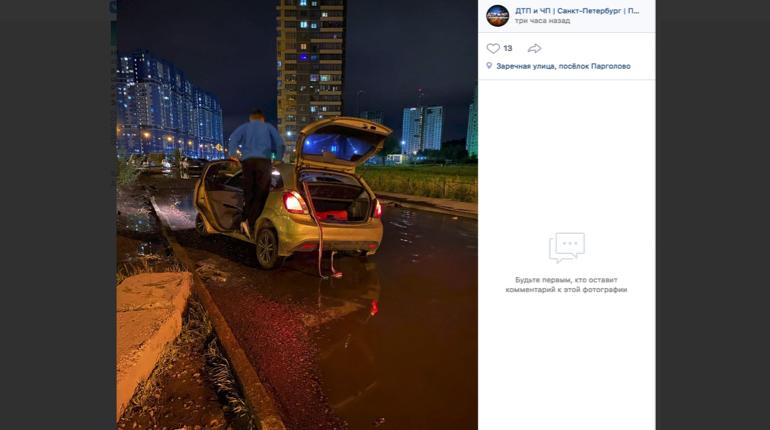 На Заречной машины попадают в «ловушку»: водители не замечают ям