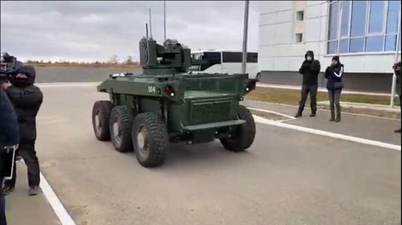 Глава «Роскосмоса» опубликовал видео робота-охранника «Маркера»