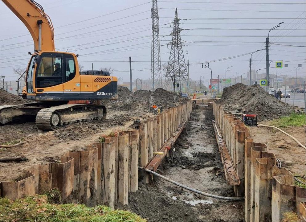В Красносельском районе до конца года завершится реконструкция водопроводной магистрали