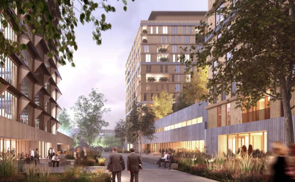 Британцы спроектируют общественно-деловой квартал на намыве Васильевского острова